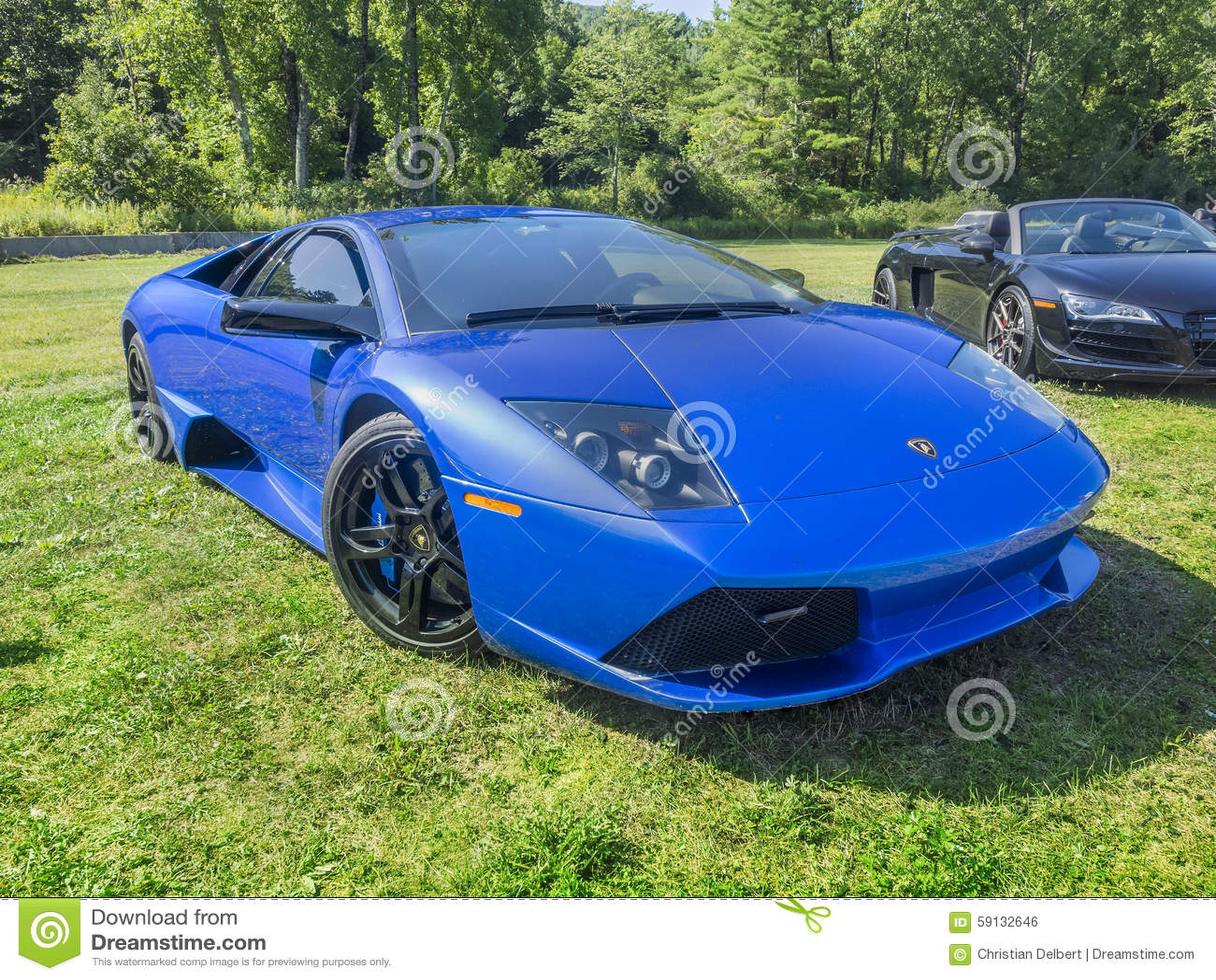 Automobile sportiva di Lamborghini Murcielago LP 640