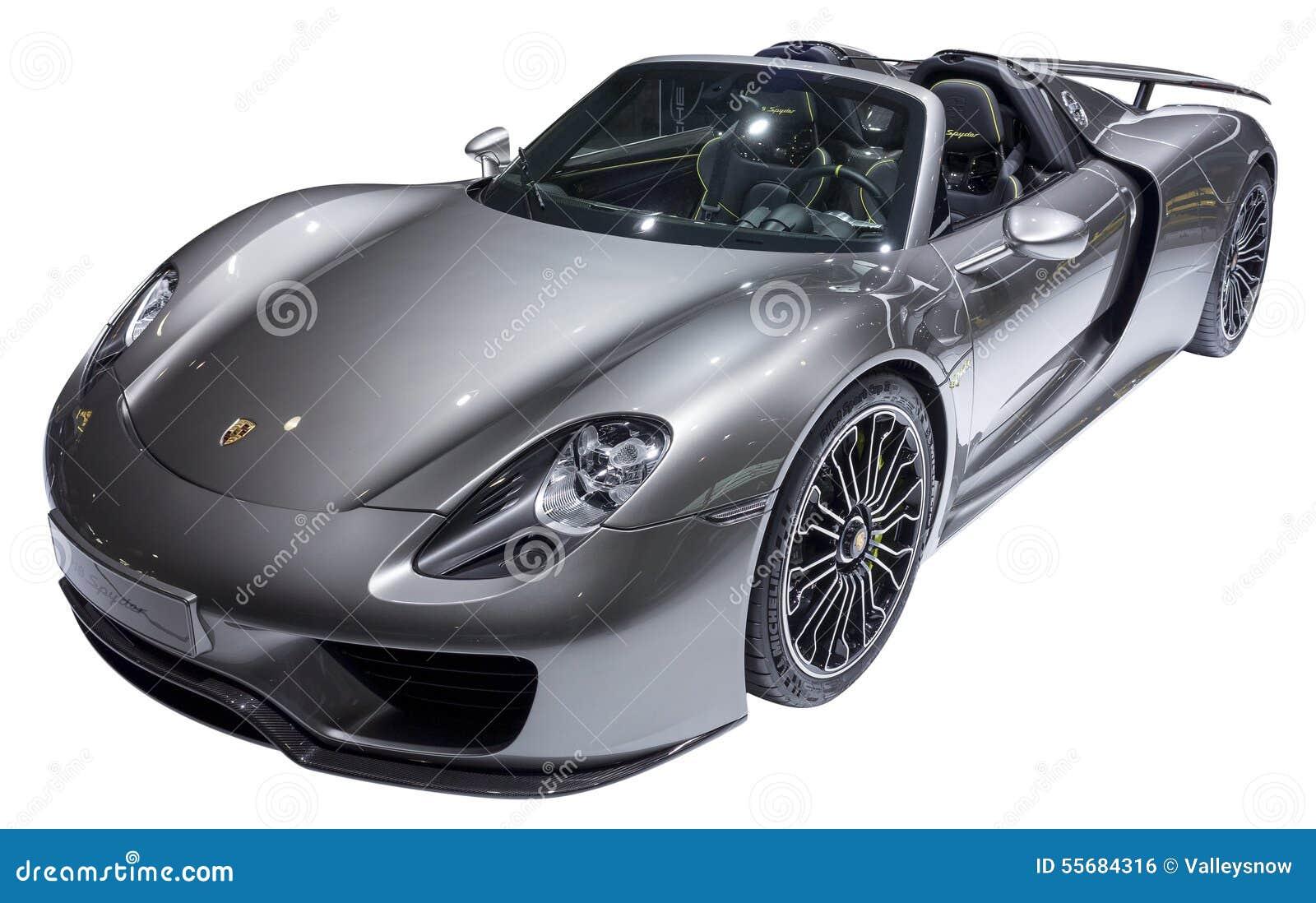 Automobile sportiva di Porsche