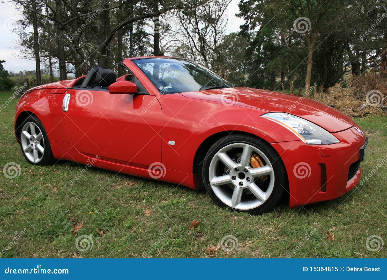 Automobile sportiva rossa