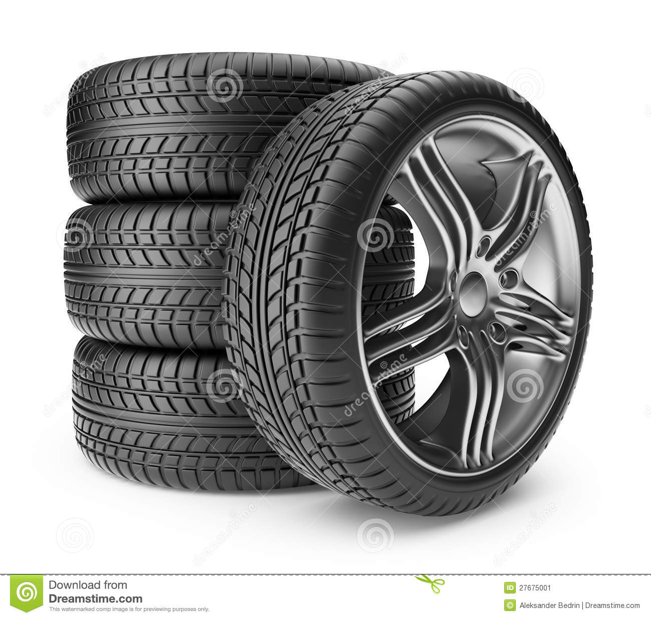 Automobile Tire. Wheel 3D, Icon Stock Image - Image: 27675001 Iphone Silhouette Icon