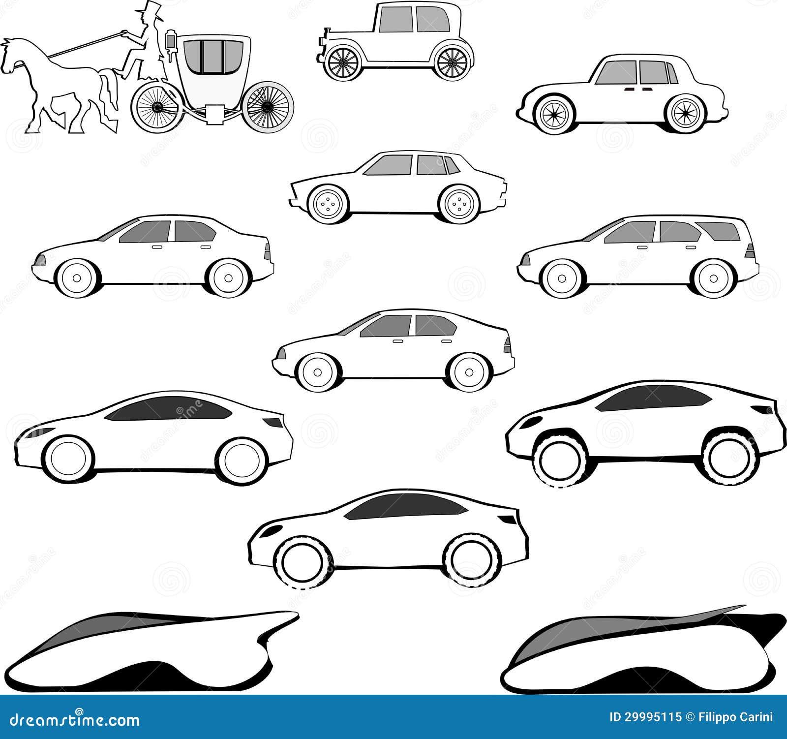 jahrhundert auto entwicklung lizenzfreies stockfoto bild 29995115. Black Bedroom Furniture Sets. Home Design Ideas