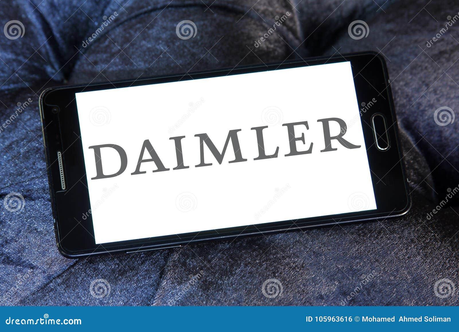Automobilgesellschaftslogo Daimler