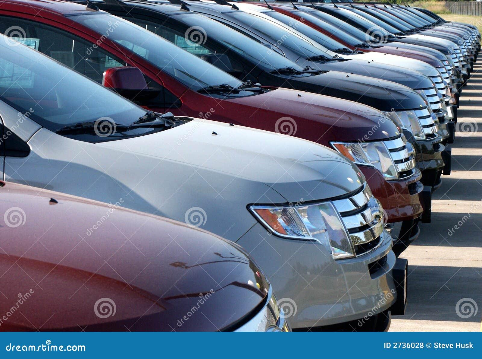 Automobili nel nuovo lotto dell automobile