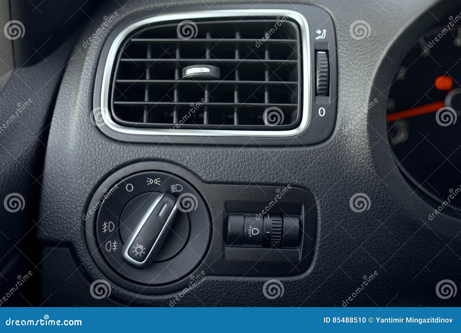 Automobilowy powietrza uwarunkowywać Przepływ powietrze wśrodku pojazdu