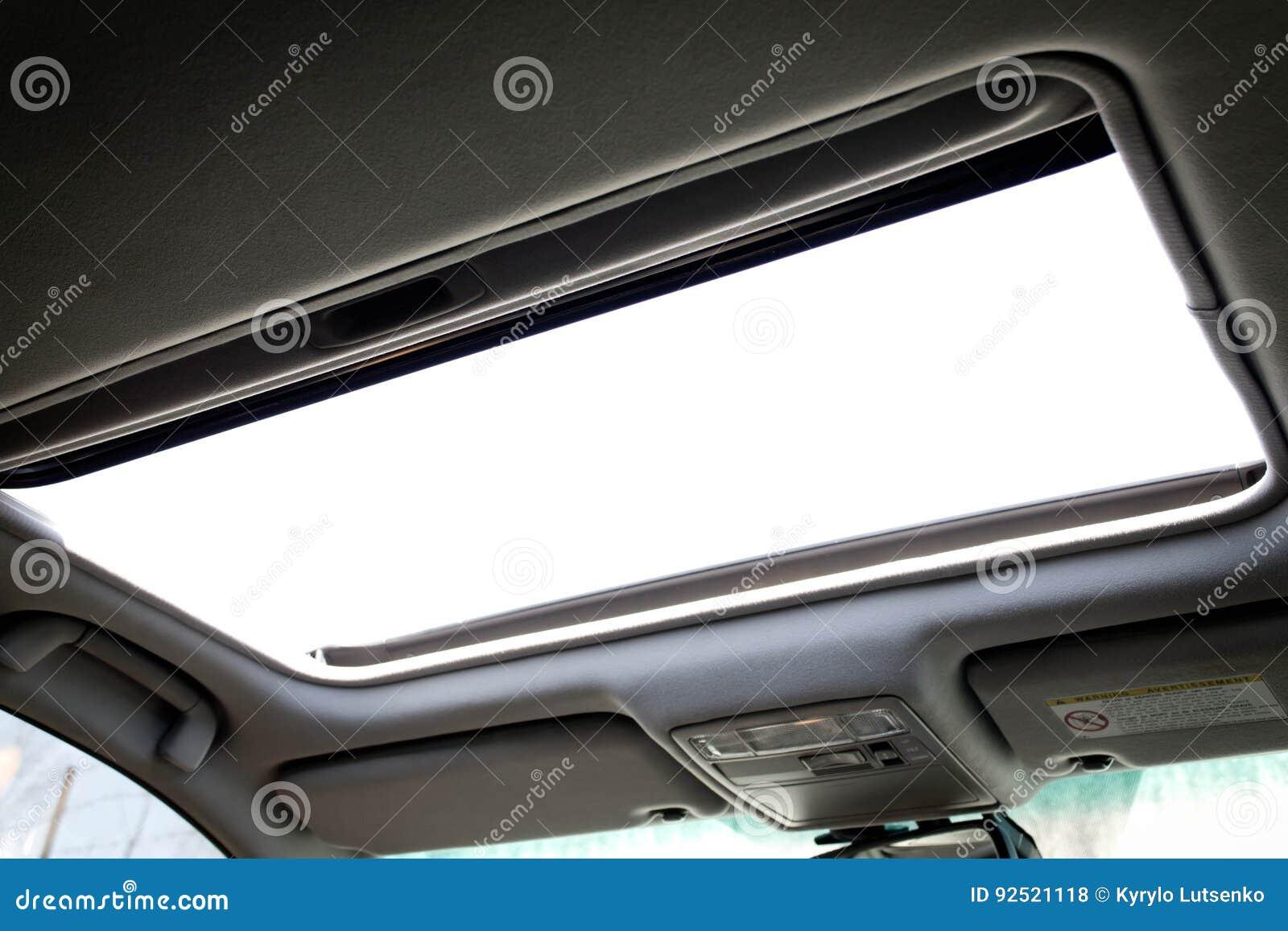 Automobilowy sunroof