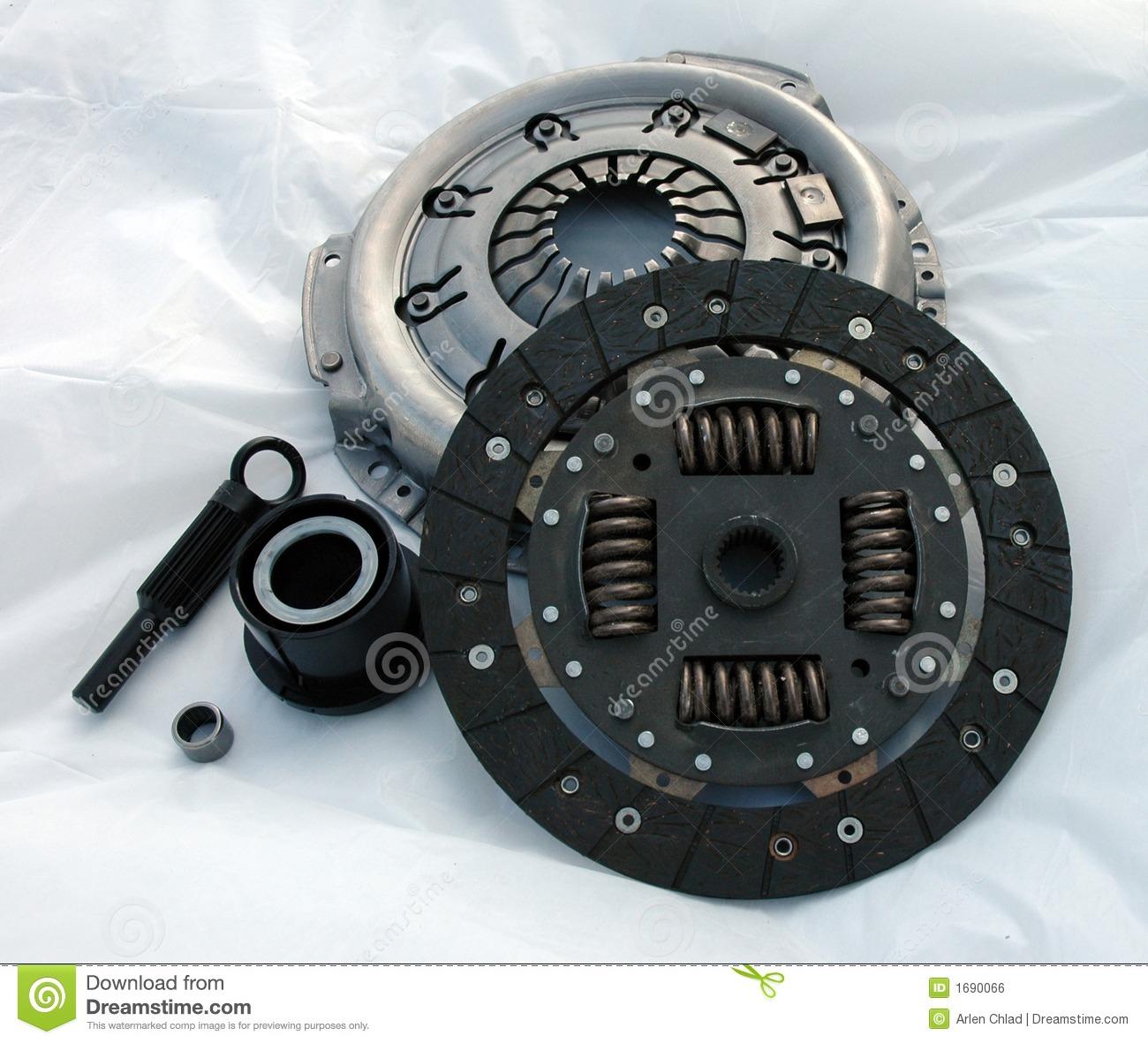 Automotive Clutch Plate : Automotive clutch royalty free stock image