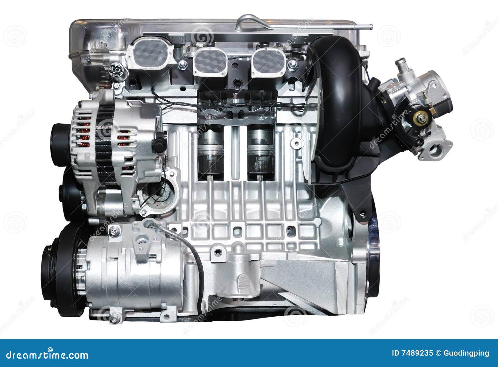 Automotor stockbild. Bild von eisen, metall, sauber, haube - 7489235