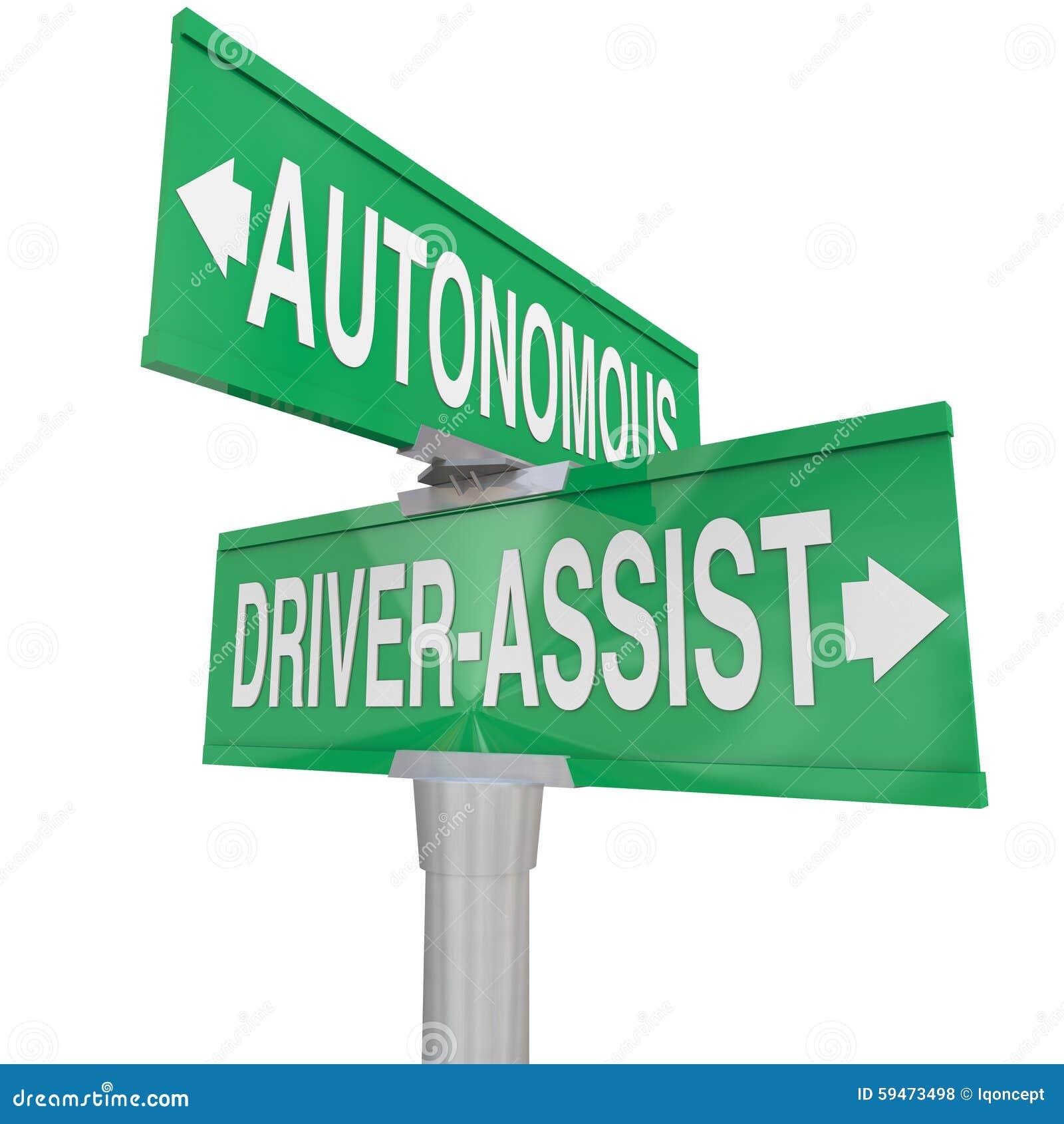 autonomous driving vs driver assist features technologies car ro stock illustration image. Black Bedroom Furniture Sets. Home Design Ideas