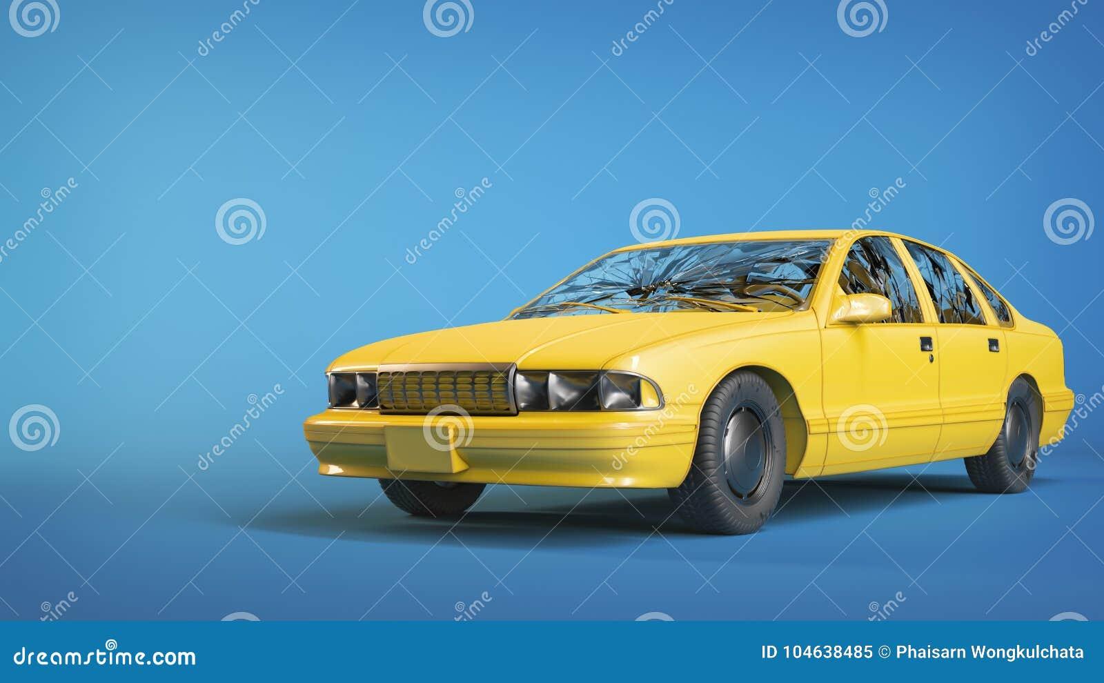 Download Autoongeval Is Er Een Barst In Het Glas Stock Illustratie - Illustratie bestaande uit schade, gebroken: 104638485