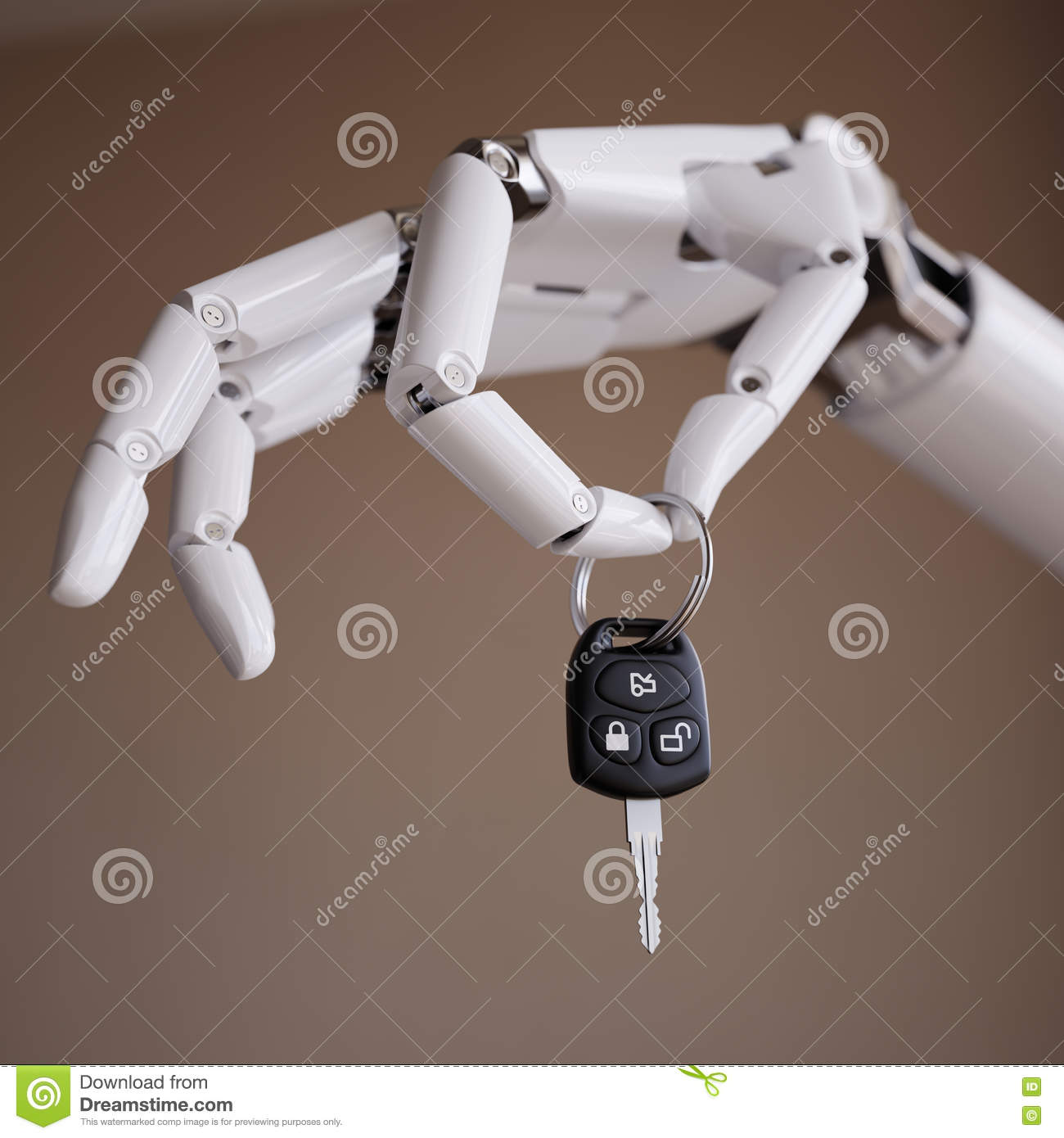 Drivers Awake To Find Cars Keyed In Penwortham: Autopilot System Or Intelligent Driver Assist 3d