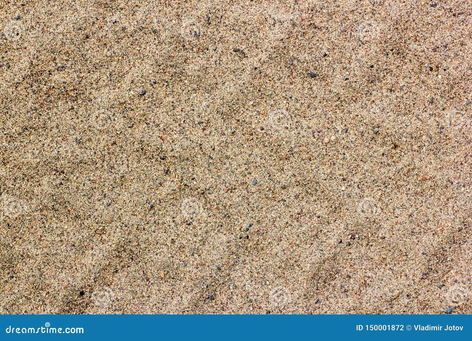 Autoreifenbahnen auf trockenem Sand, Straße, abstrakter Hintergrund, Beschaffenheitsmaterial Reifenbahn auf dem Schmutzsand oder