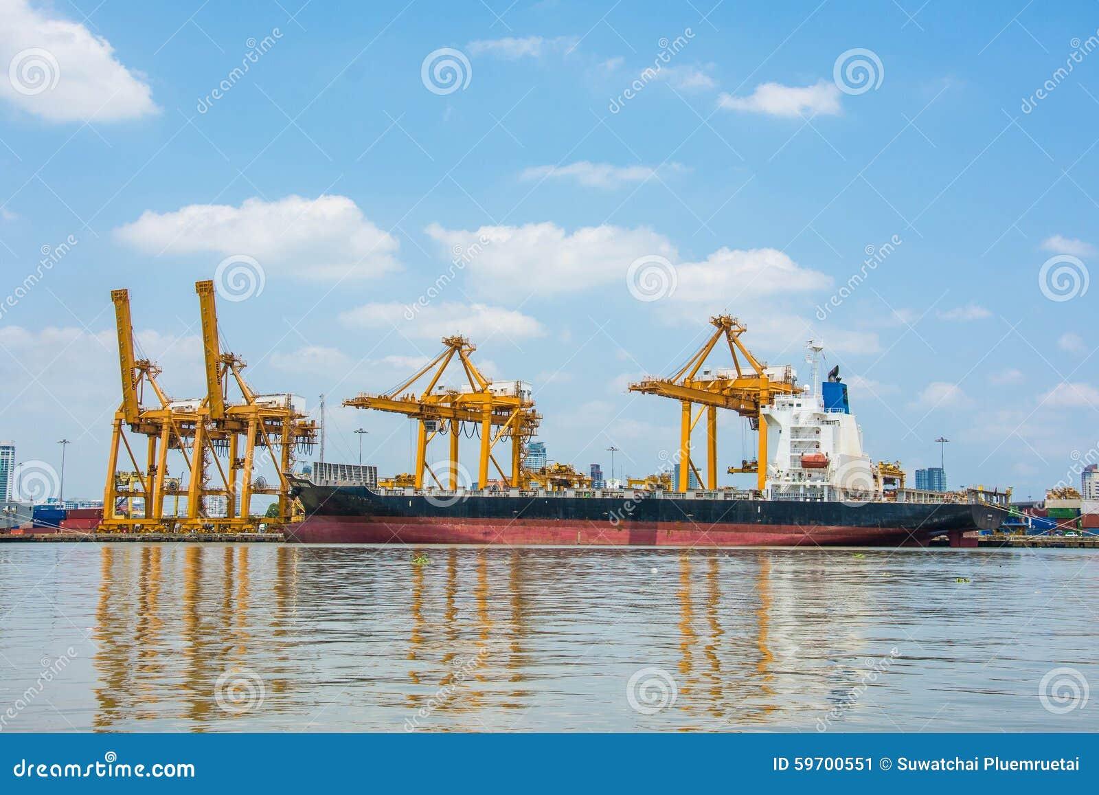 Autoridade portuária de Tailândia Klongtoey