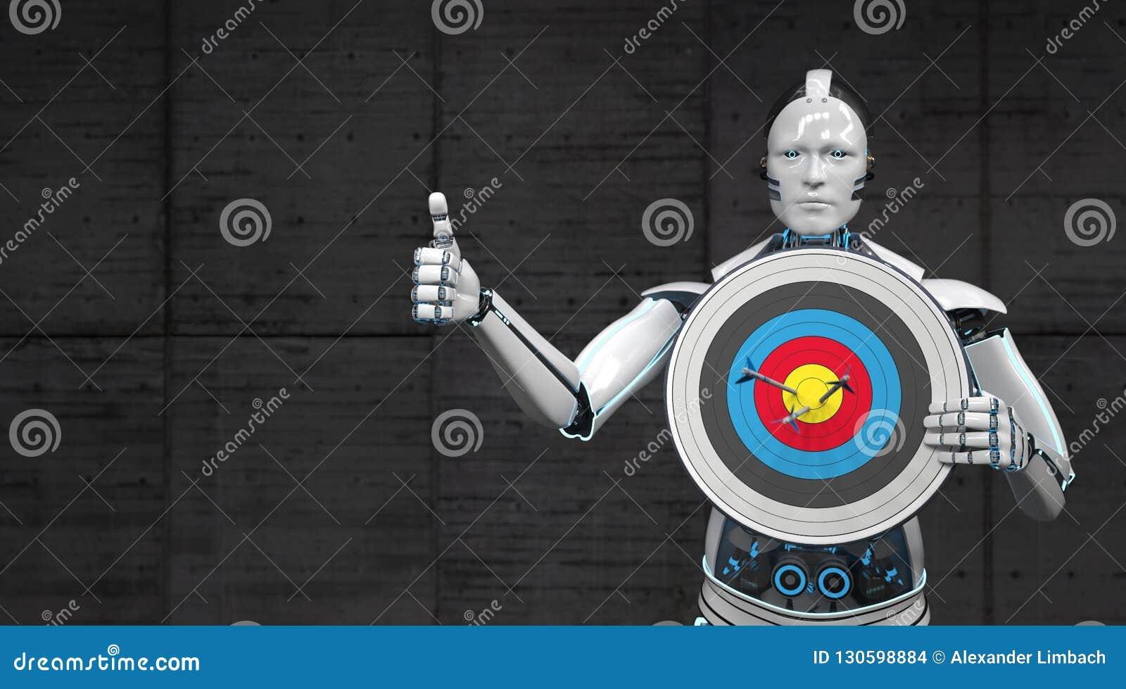 AUTORIZACIÓN de la blanco del robot