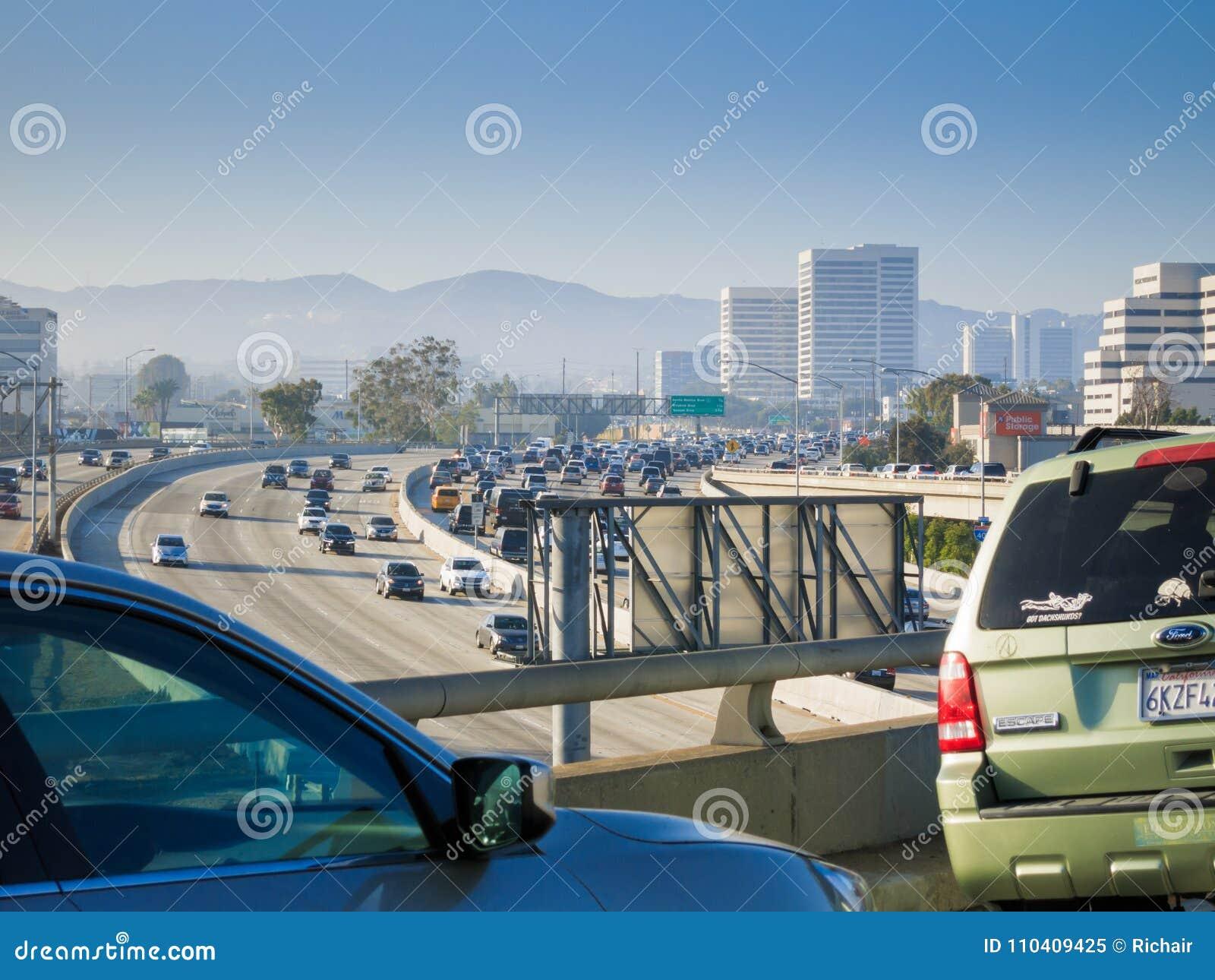 Autoroute 405 à Los Angeles