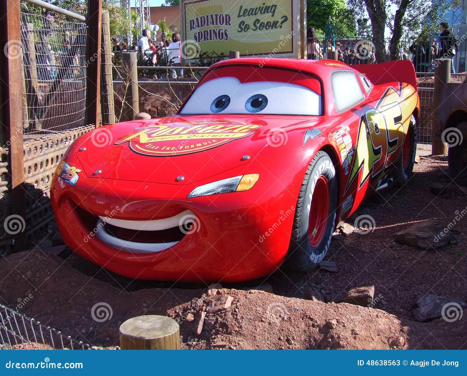 Autos in Disneyland Paris