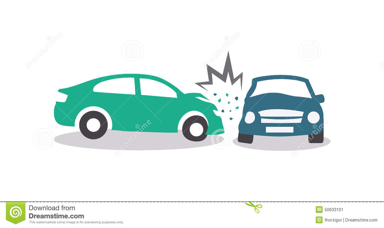 Picture Of Car Accident Cartoon