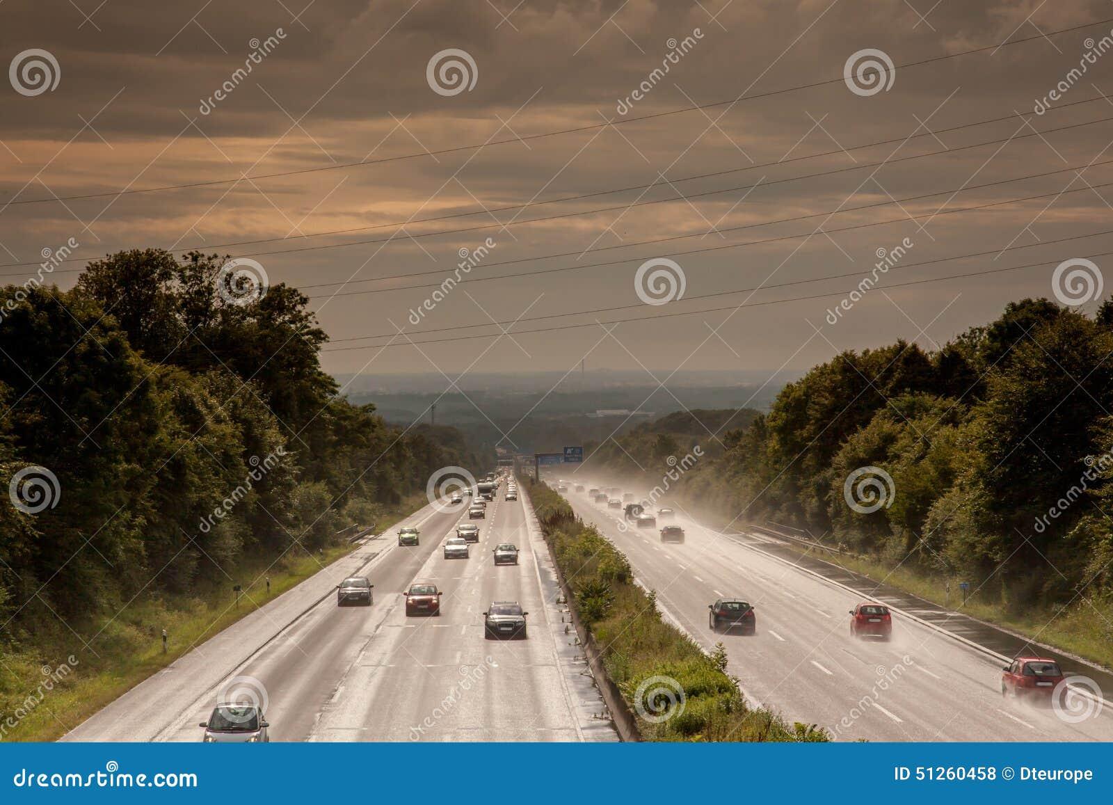 Autostrady biedy widoczność