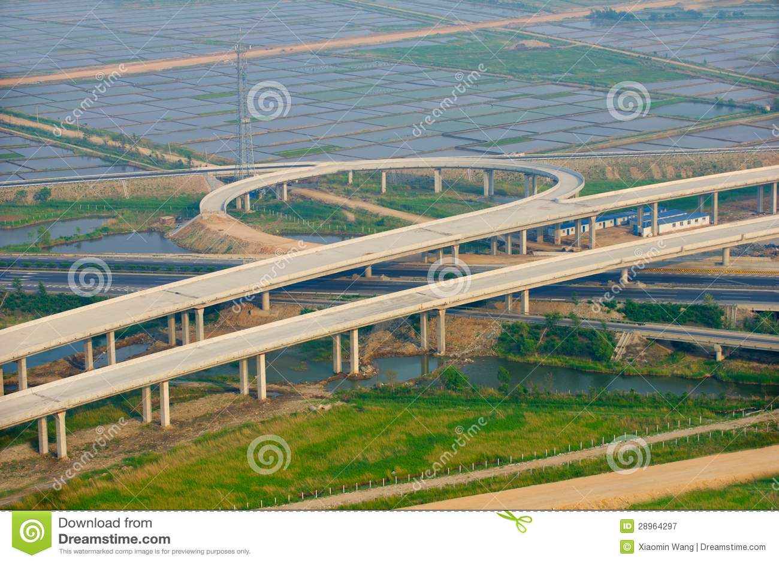 Autostrady złącze, antena