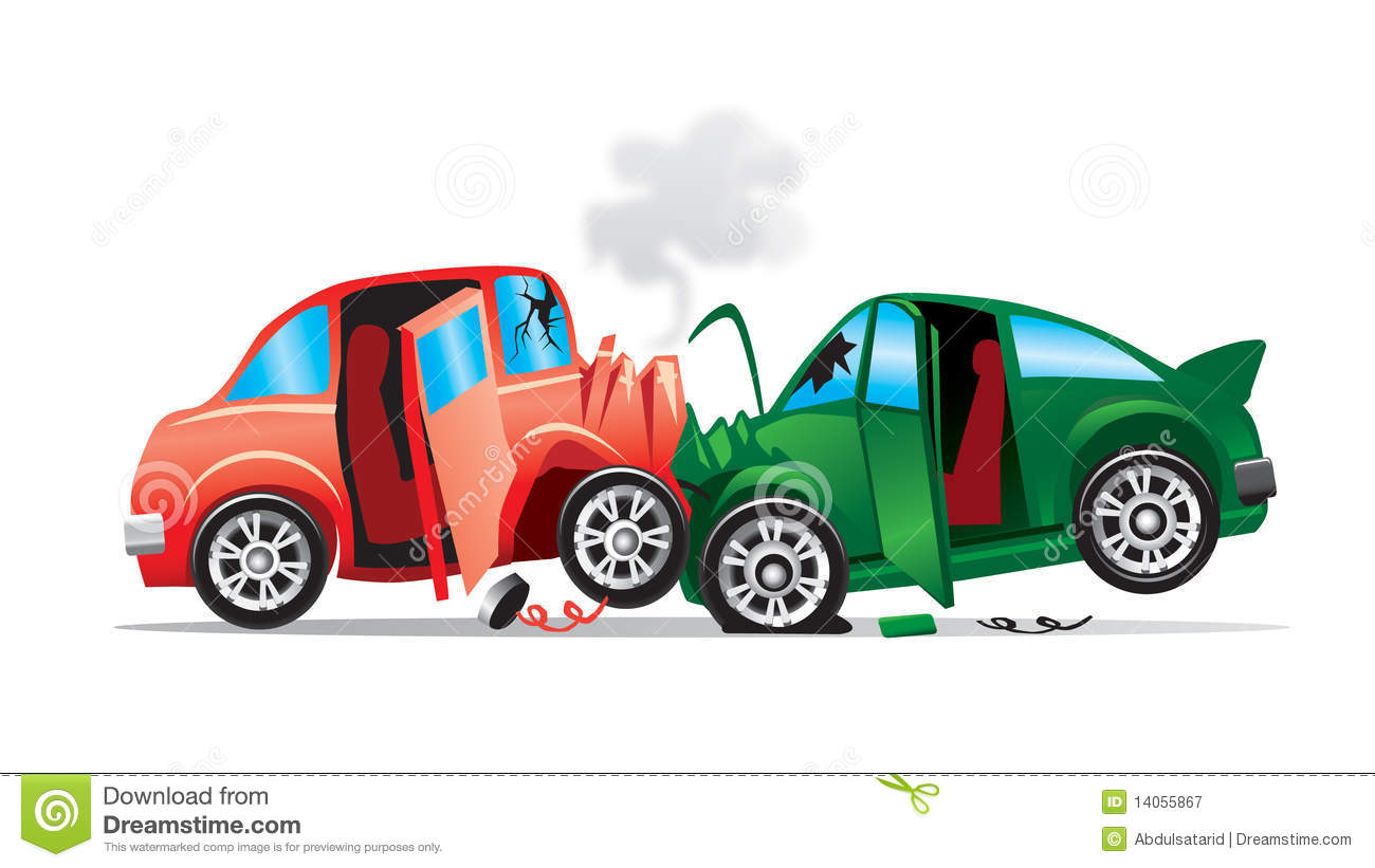 Car Crash Cartoon Pics