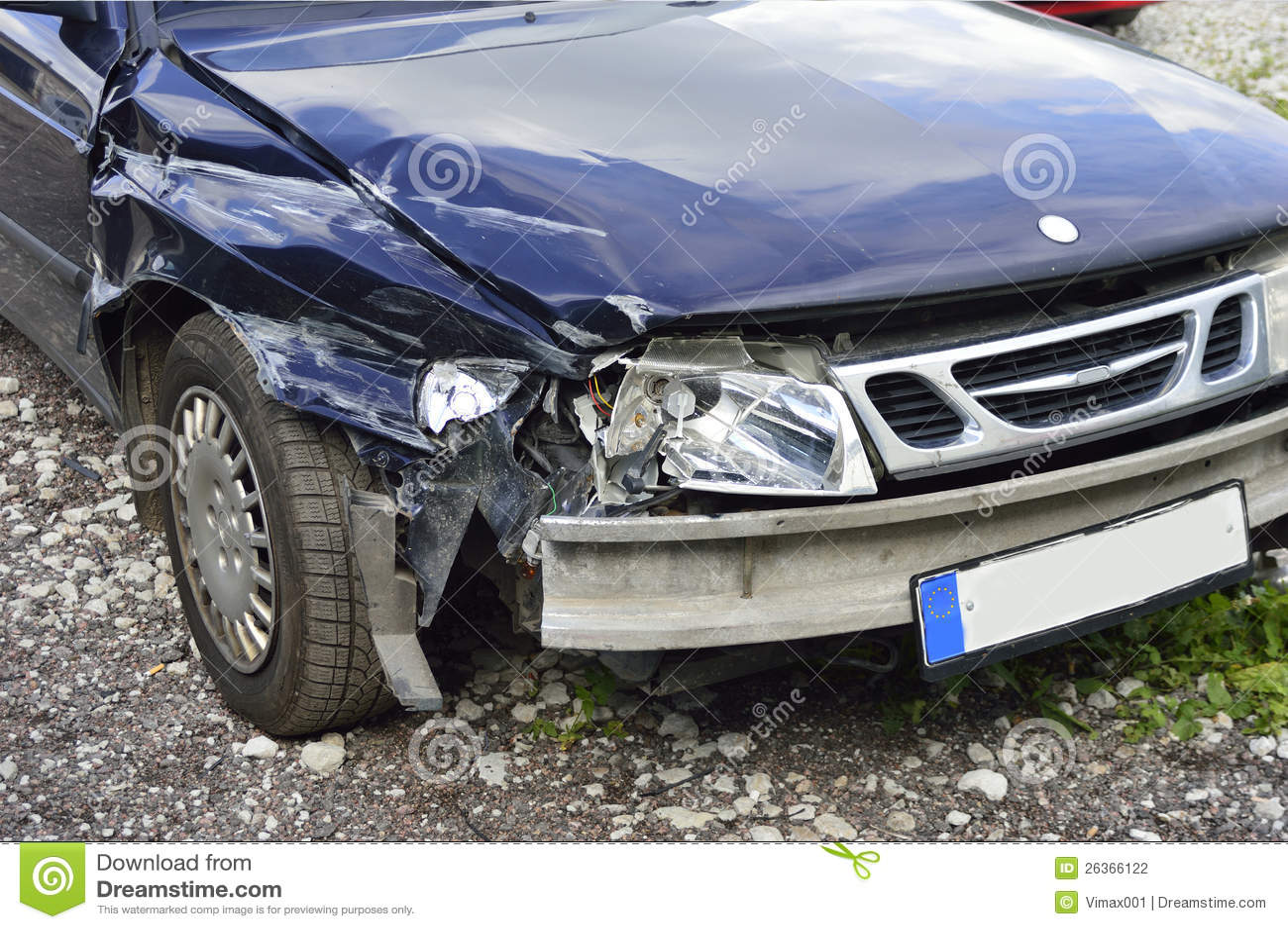 Autounfall, Versicherungskonzept