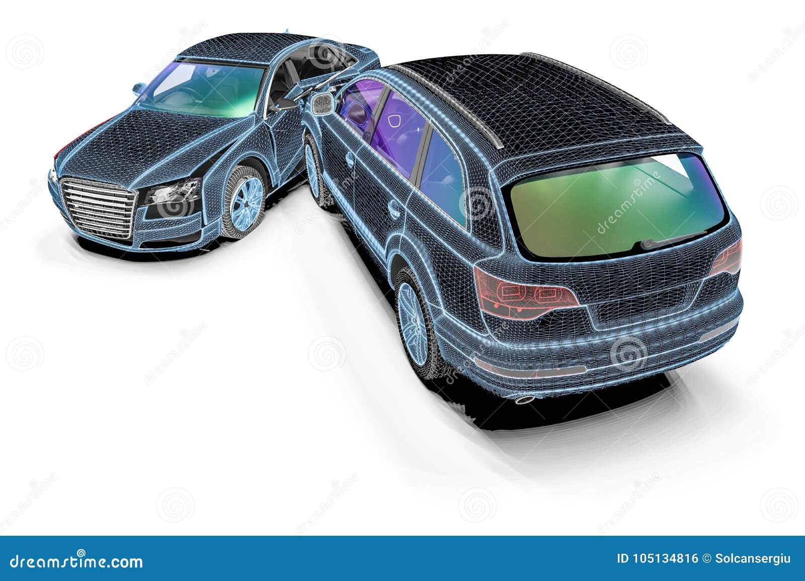 Atemberaubend Autounfallanalyse Ideen - Schaltplan Serie Circuit ...