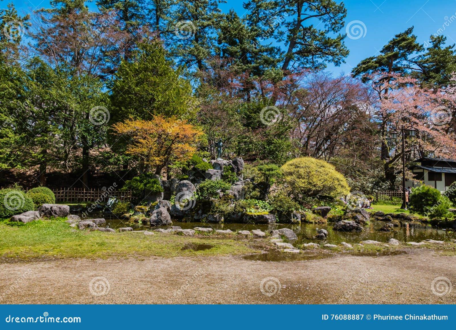 Autour du parc de château de Hirosaki