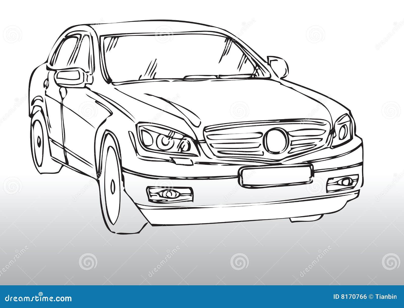 Ziemlich Kostenlose Autozeichnungen Zeitgenössisch - Elektrische ...