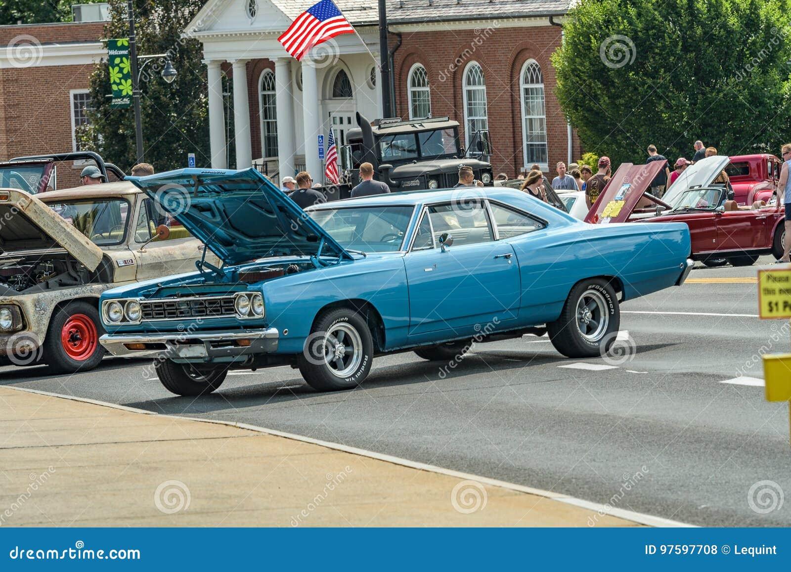 Autozeigung in Manchester Connecticut