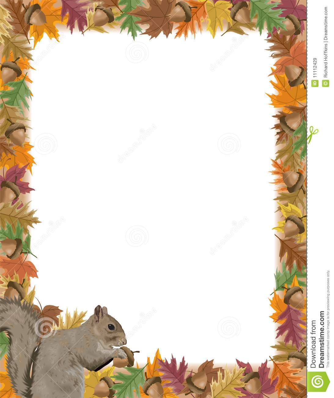 Squirrel Picture Frame