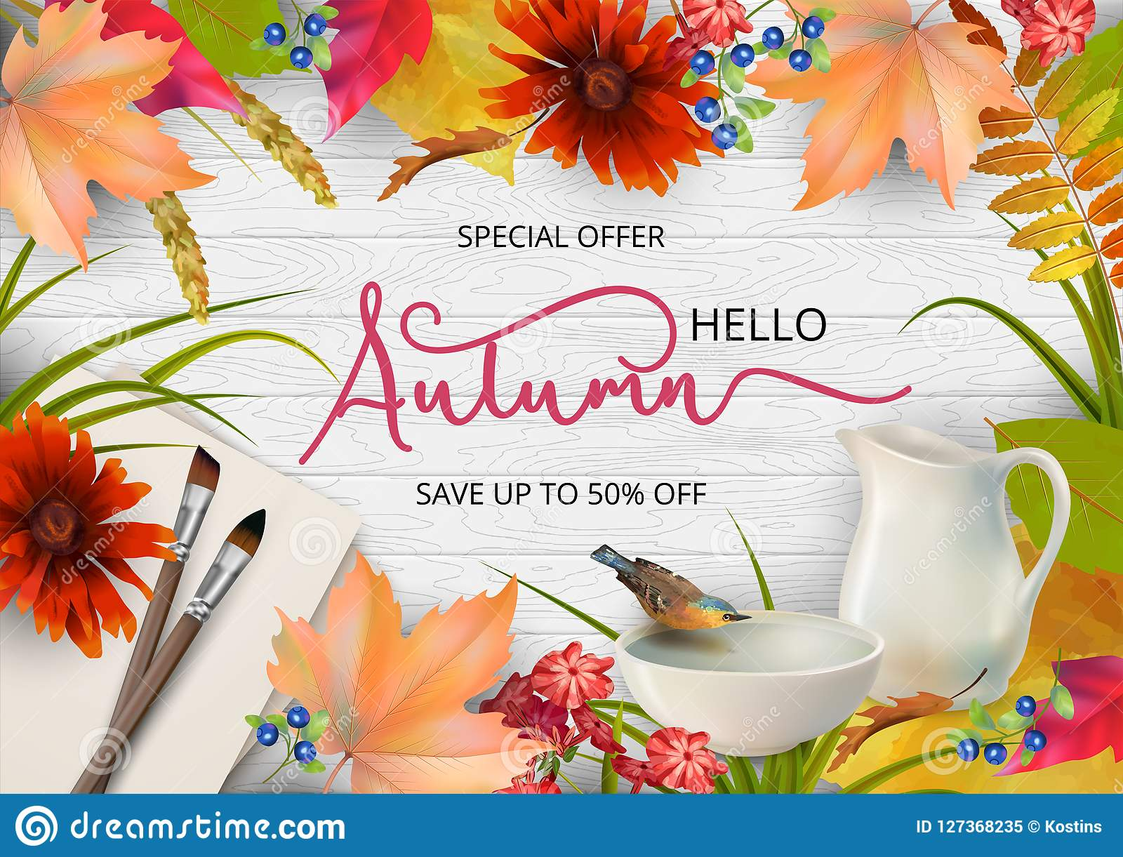 Autumn Advertising Banner