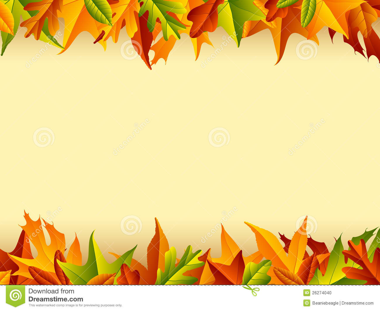 colorful Thanksgiving and autumn inspired background.