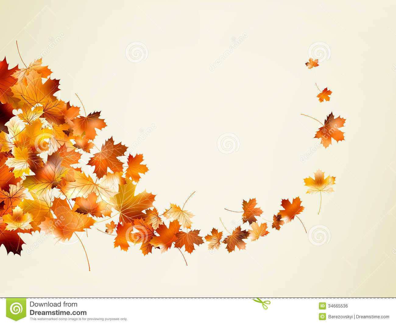autumn background template  eps 10 royalty free stock