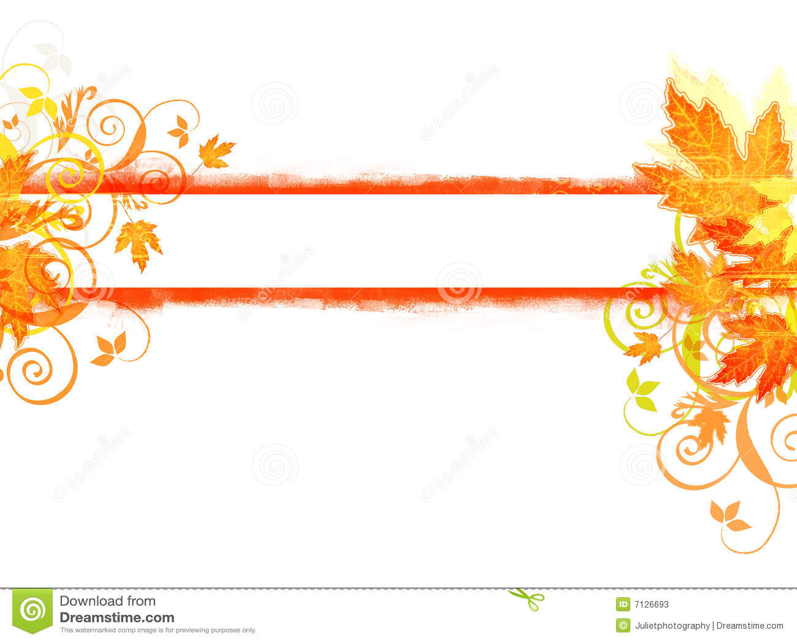 Autumn Banner Stock Photos - Image: 7126693