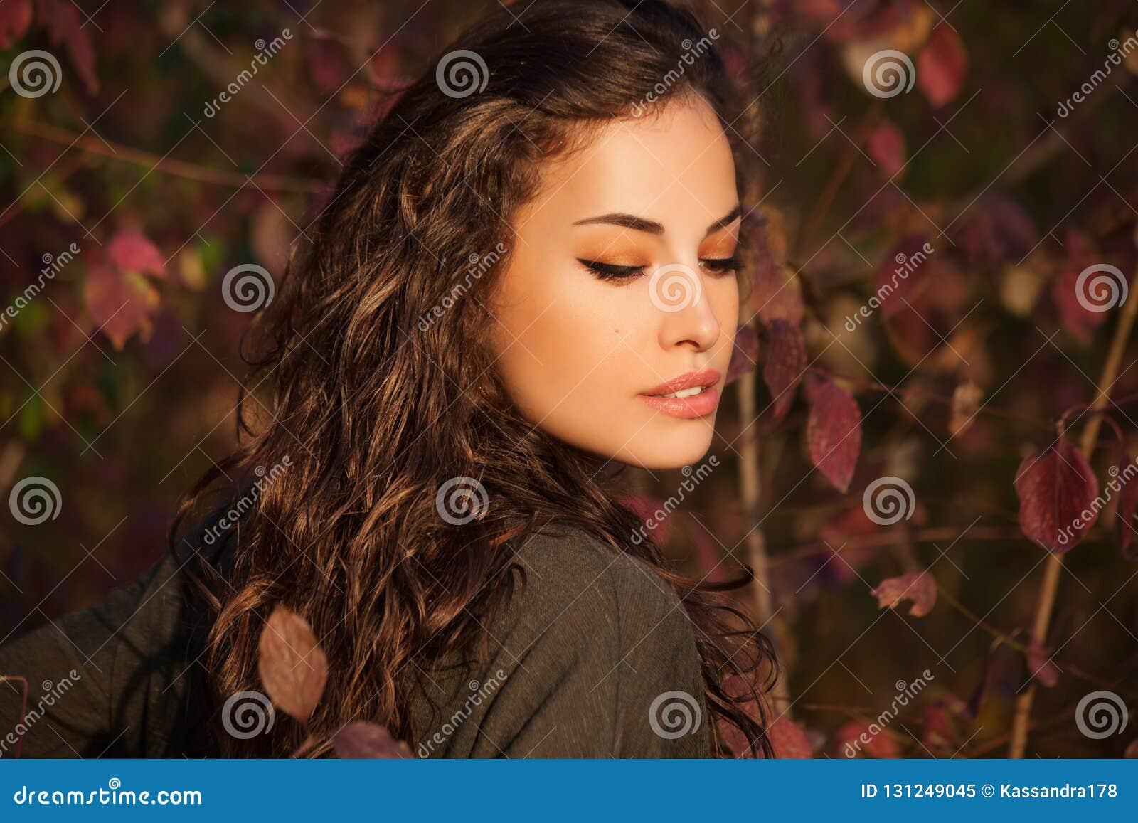 Autumn Beauty-Porträt