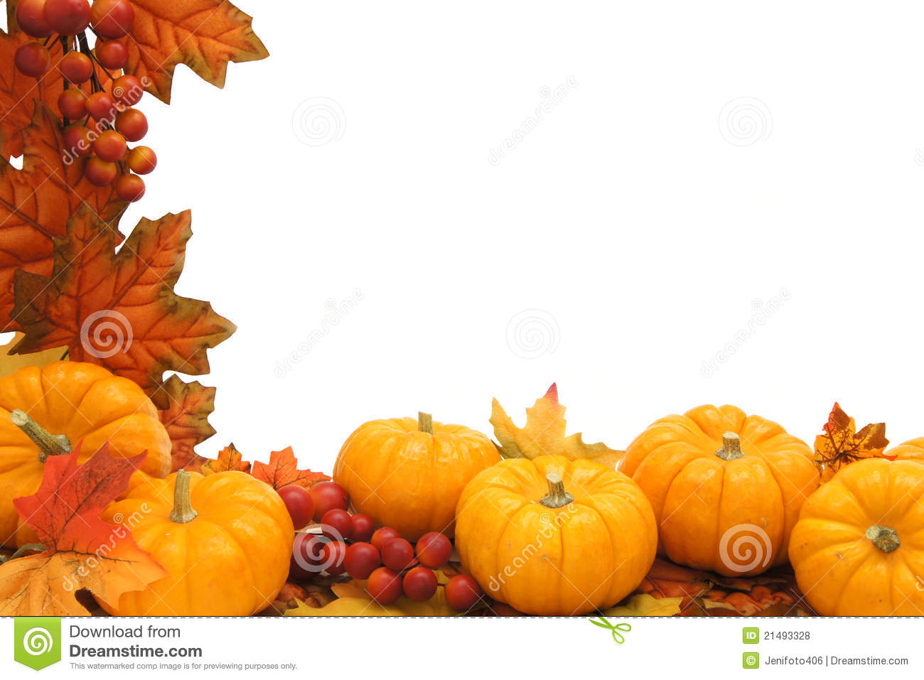Download Autumn Border Stock Photo Image Of Colorful Edge Golden