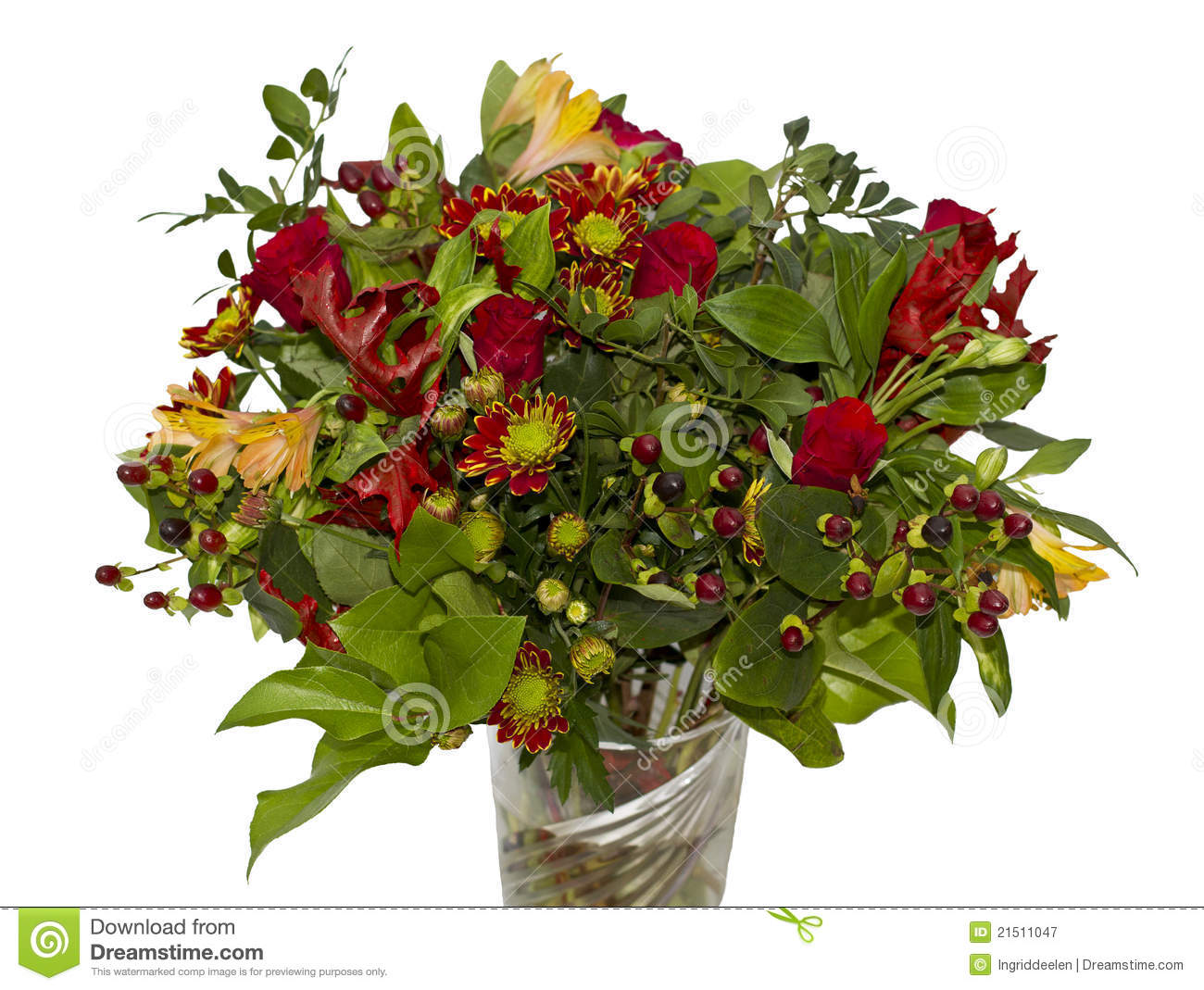 Autumn bouquet royalty free stock photography image for A lot of different flowers make a bouquet