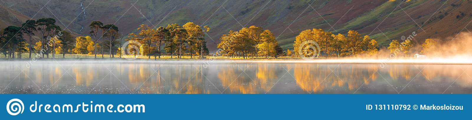 Autumn colors on the sentinels of Buttermere