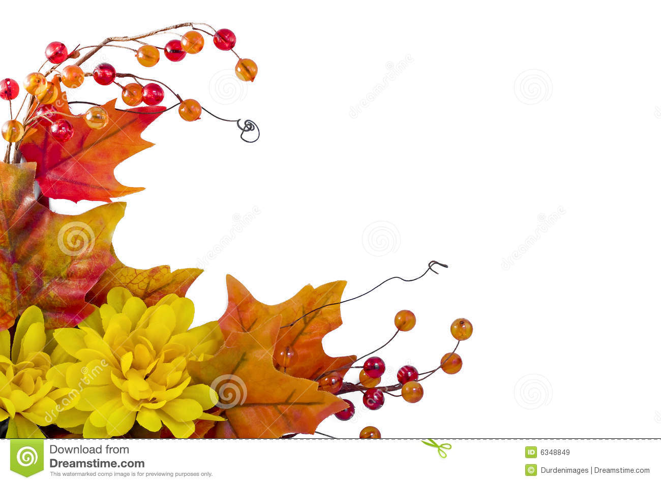 Flower Arrangement Pictures With Theme Autumn Corner Stock Image Image Of Silk White Yellow