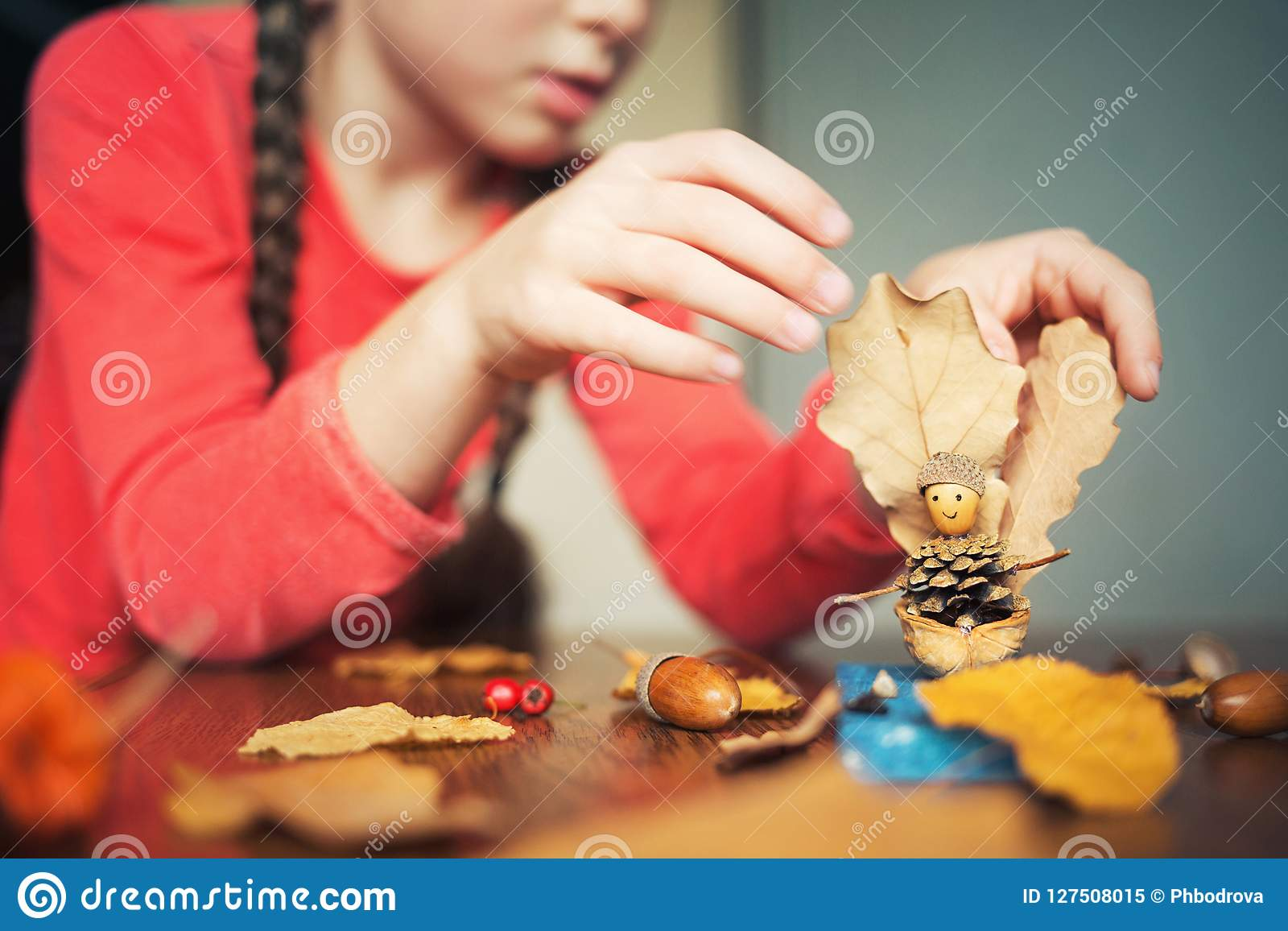 Autumn Craft With Kids Children S Cute Boat With Man Made Of