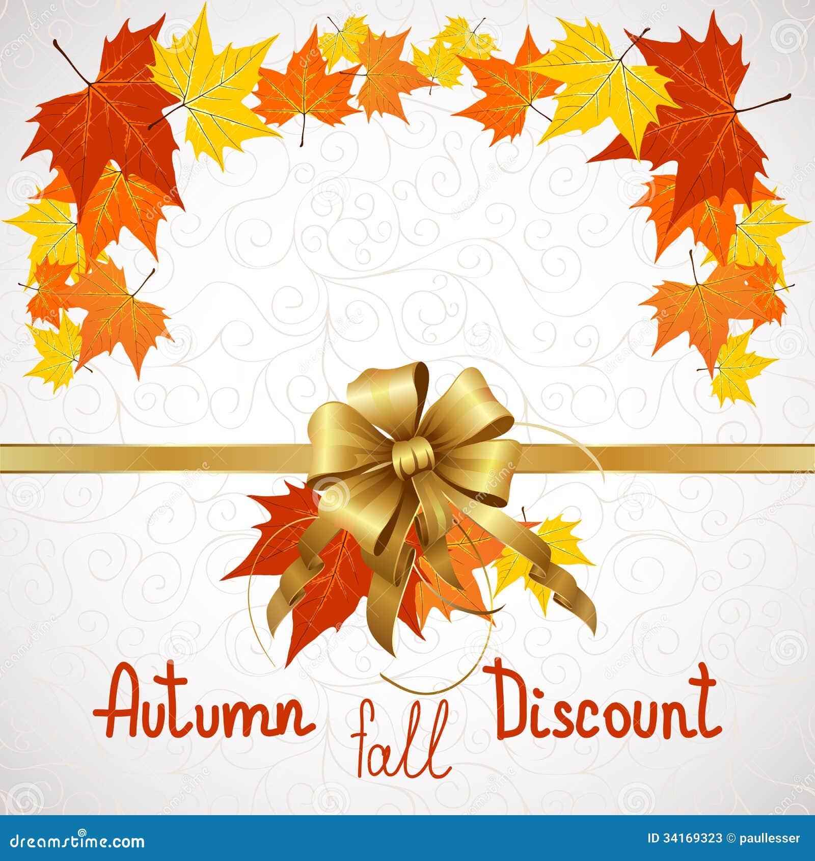 Autumn Fall Of Discount Stock Photos - Image: 34169323