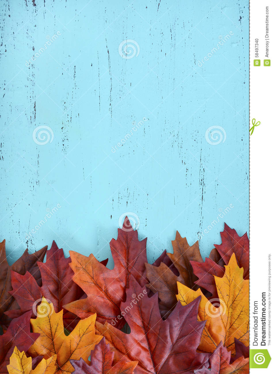 Autumn Fall Rustic Wood Background Stock Photo 58497340