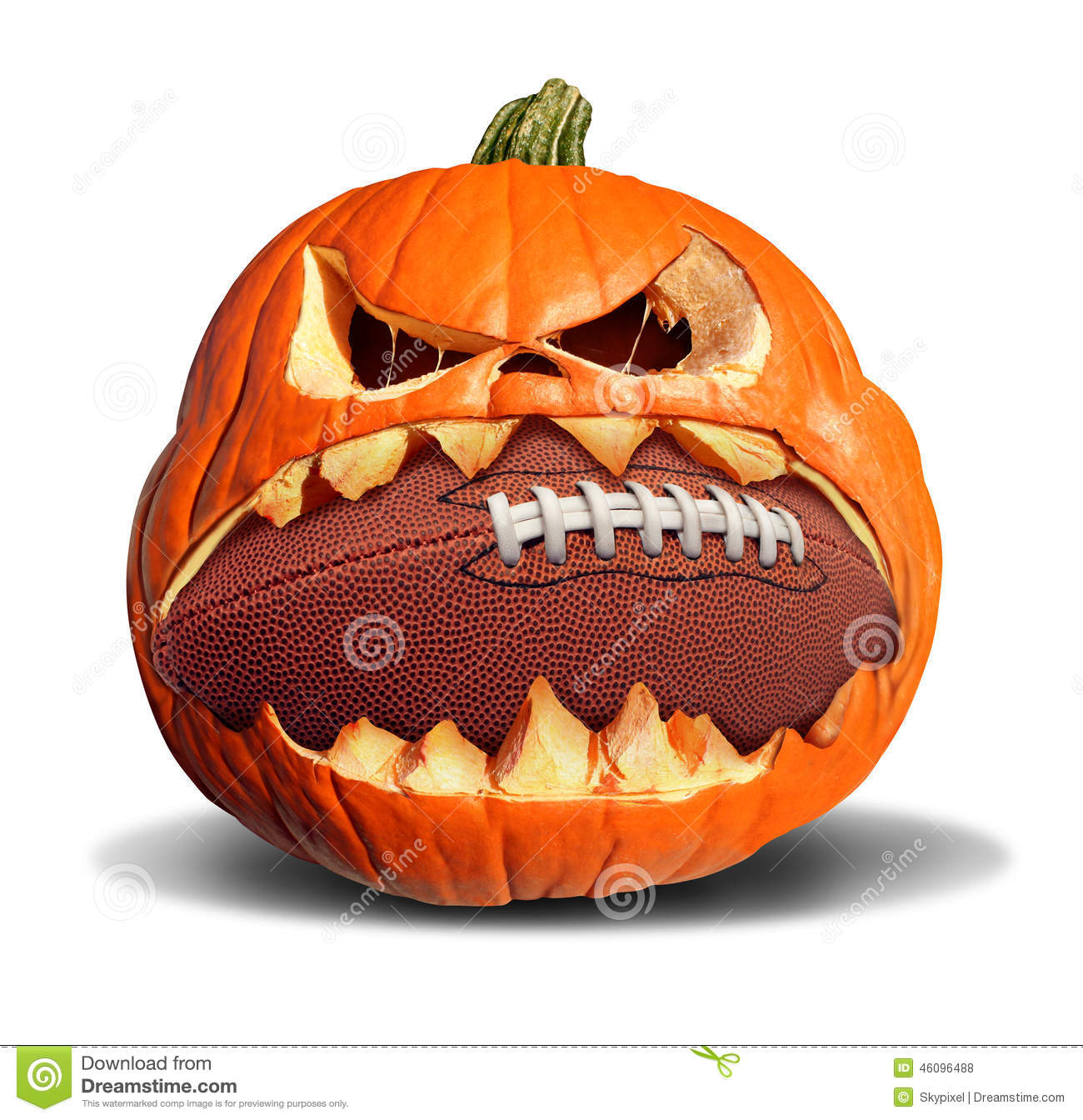 soccer ball pumpkin template