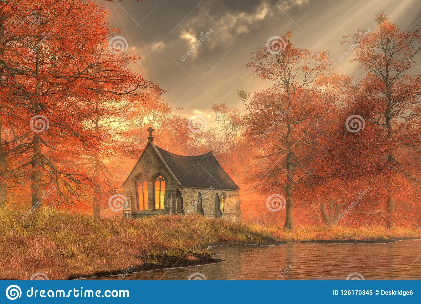 Autumn Forest Chapel