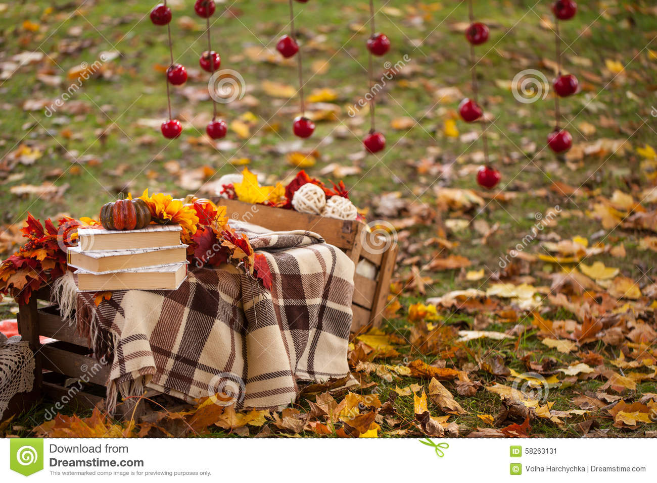 Autumn Garden Decor
