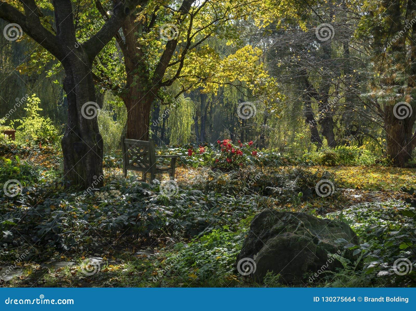 Autumn Garden mágico en Hudson Valley
