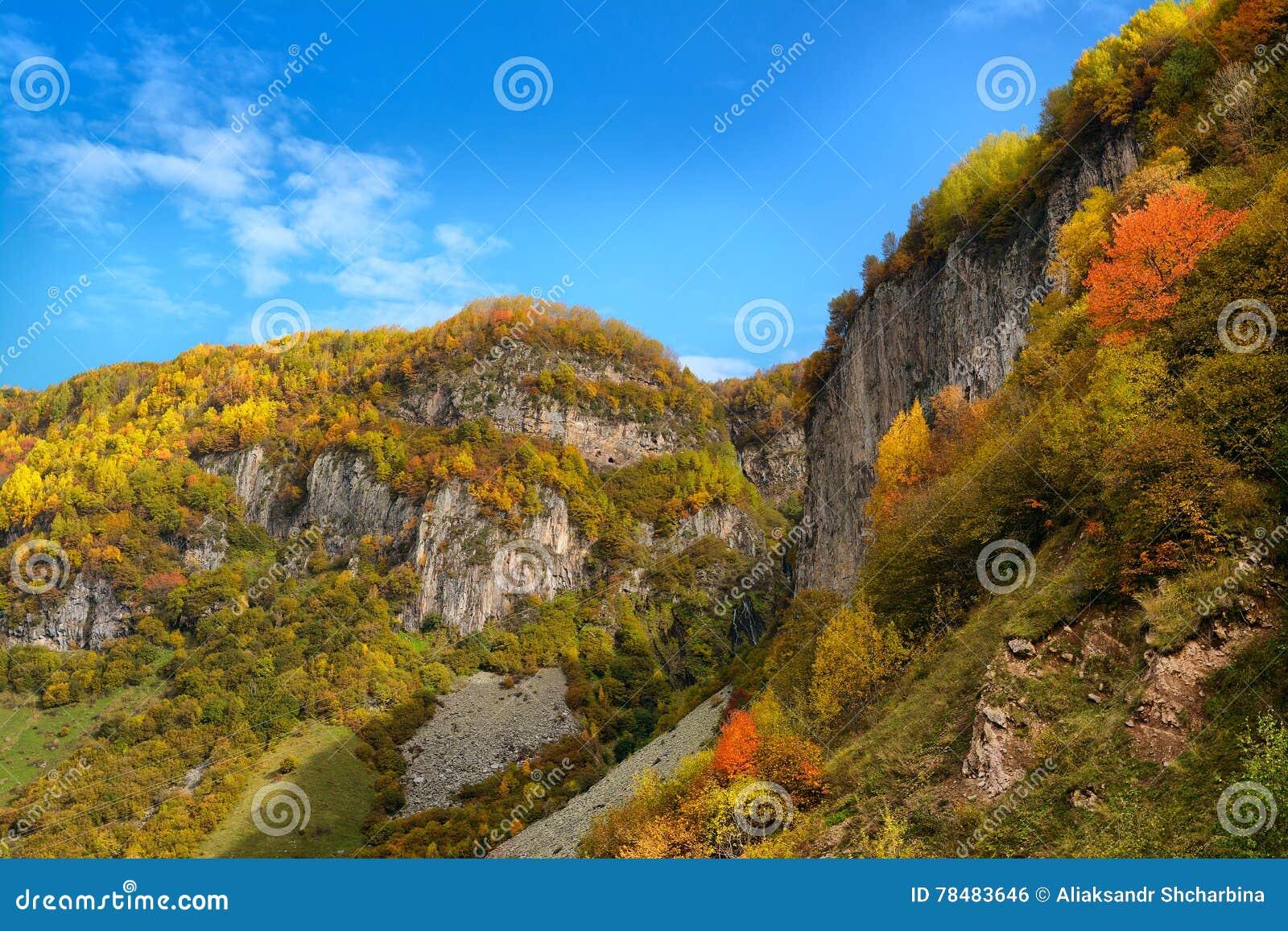 Autumn Georgian berg