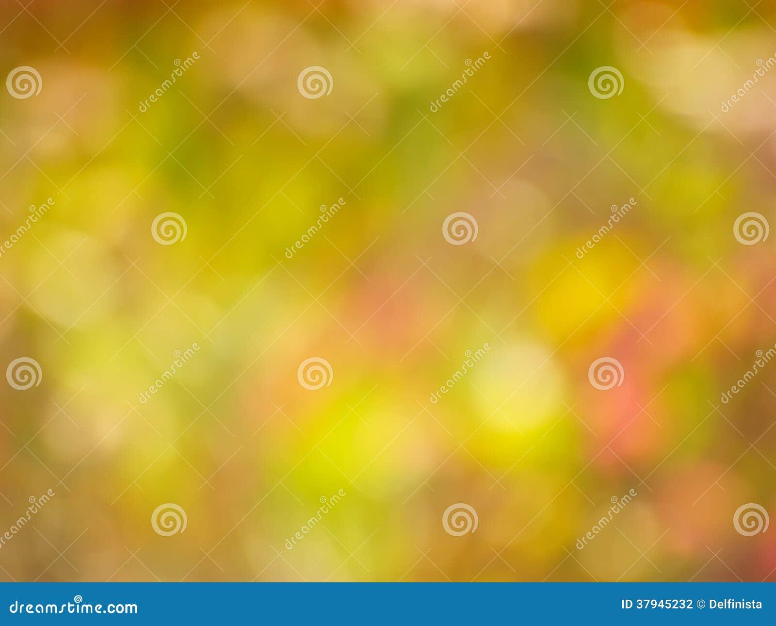 Autumn Gold Background - de Foto van de Onduidelijk beeldvoorraad