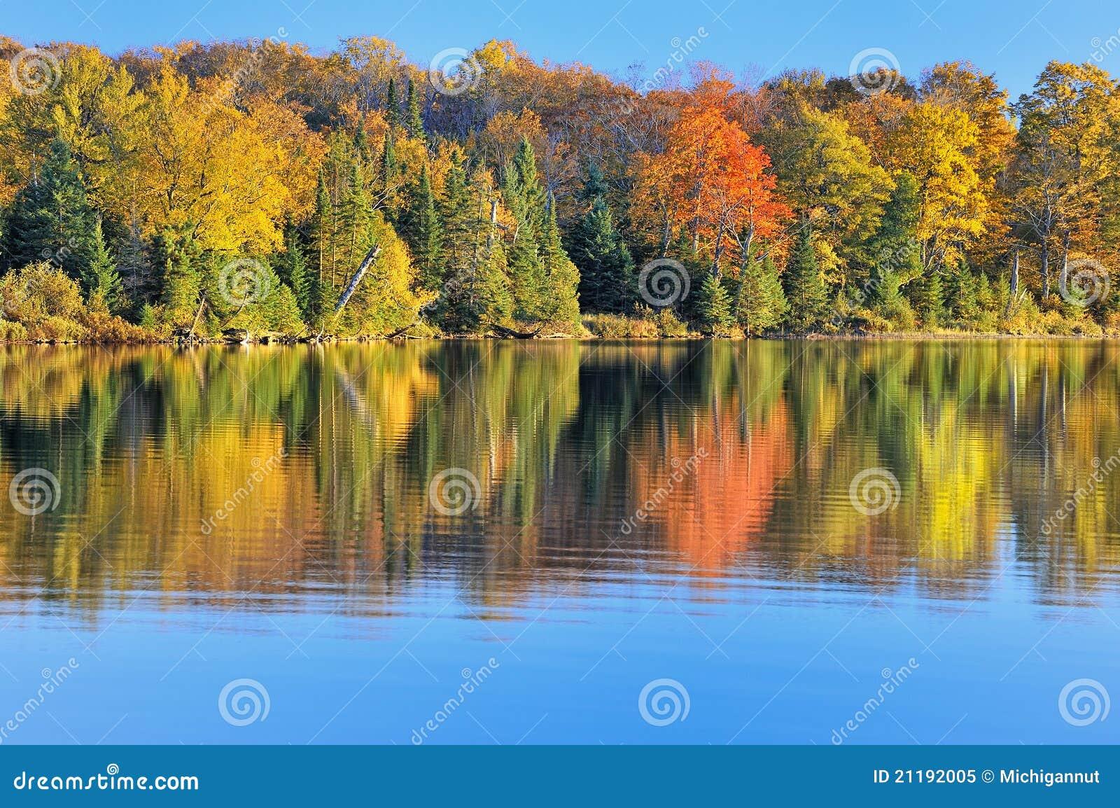 Autumn at Grand Sable Lake