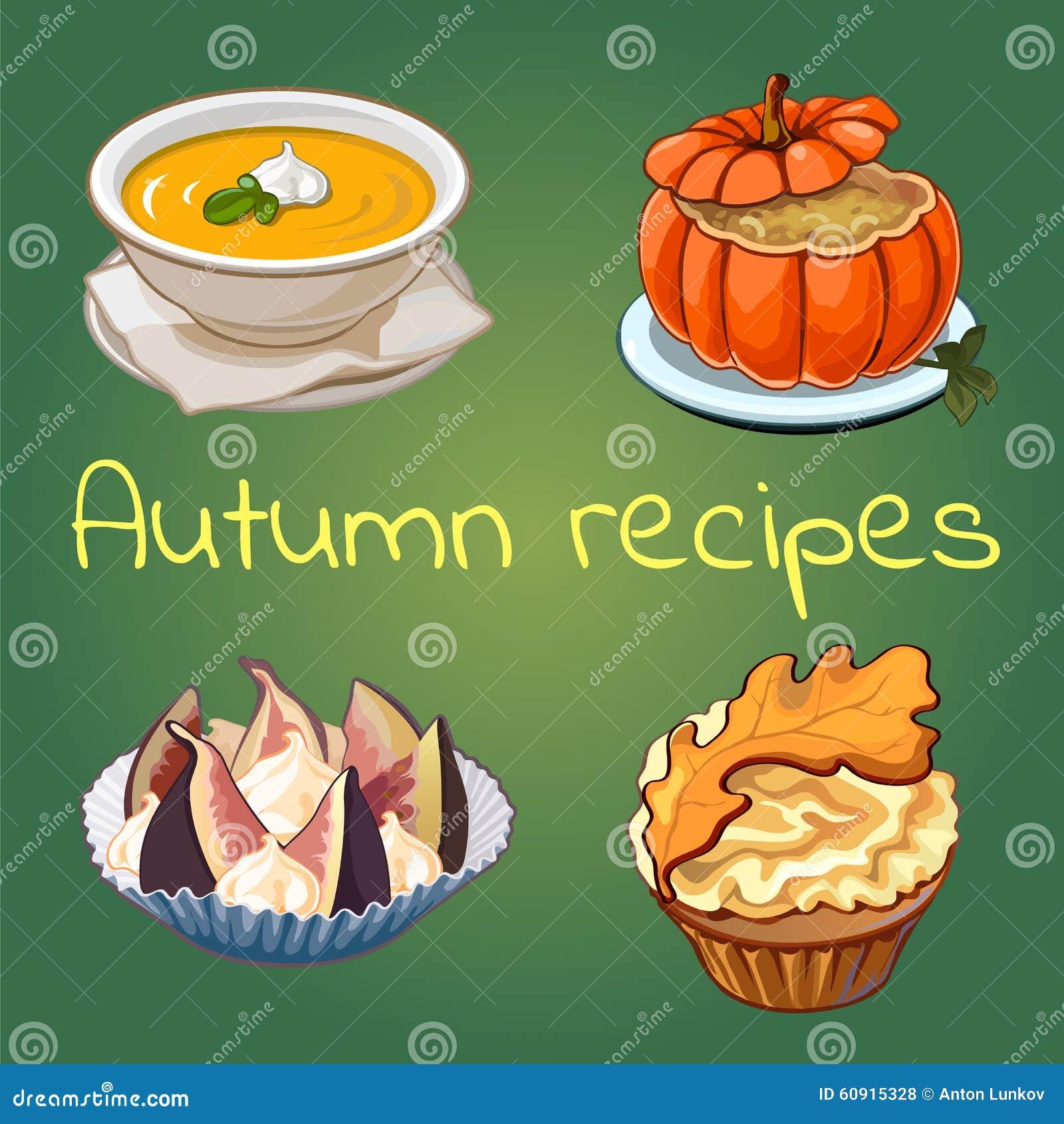 Autumn Recipes Stock Image 59634433