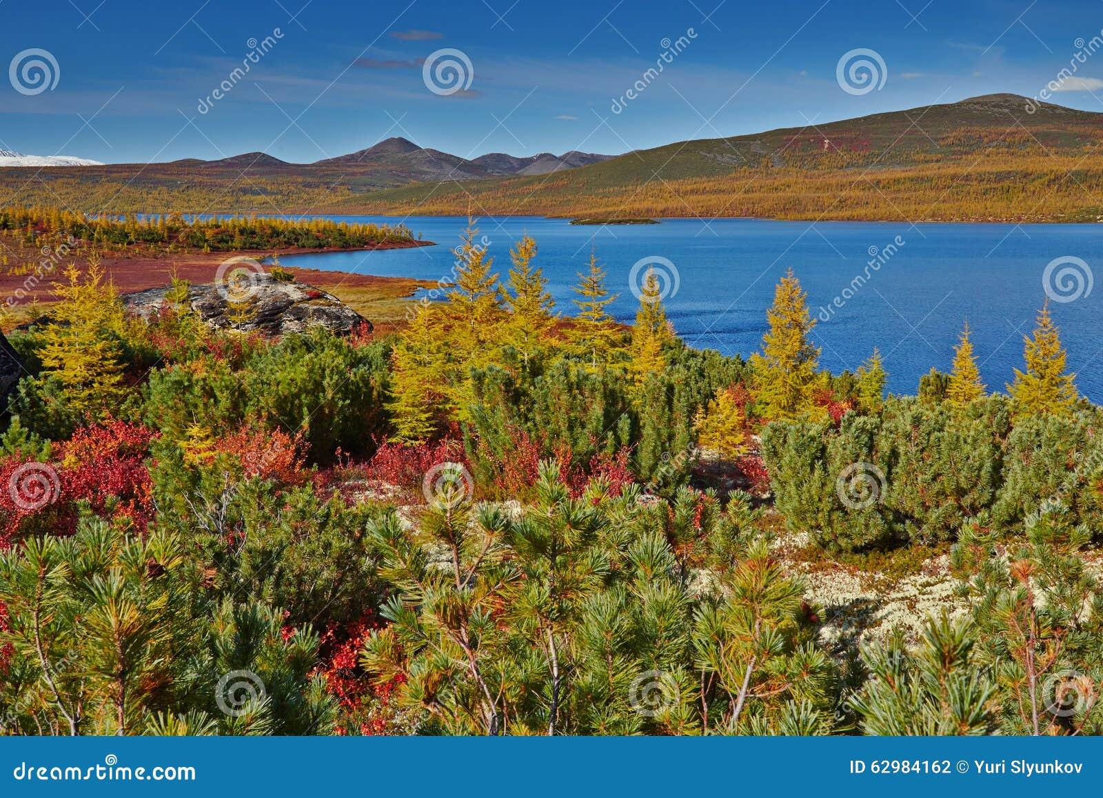 Autumn. Jack London s lake